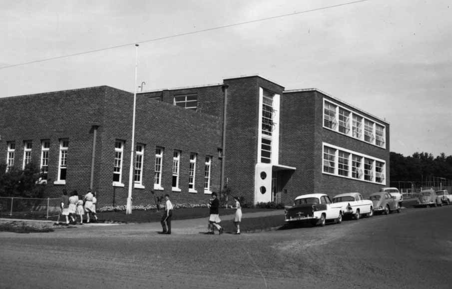 Wonthaggi Technical School, 1963. Photo: State Rivers and Water Commission, courtesy of State Library of Victoria